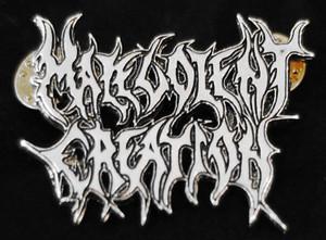 "Malevolent Creation - Logo 2"" Metal Badge Pin"