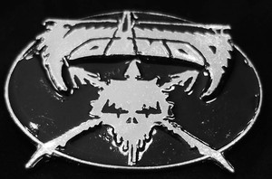 "Voivod - Logo 3.5"" Metal belt buckle"