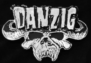 "Danzig - Logo 3.5"" Metal Belt Buckle"