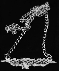 "Carcass - Logo 2"" Metal Chain Pendant"