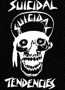 "Suicidal Tendencies - Skull 4x6"" Printed Patch"