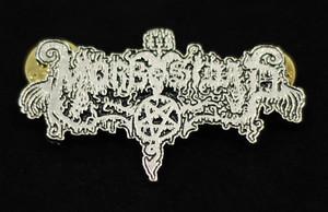 """Morbosidad - Logo 2"""" Metal Badge Pin"""
