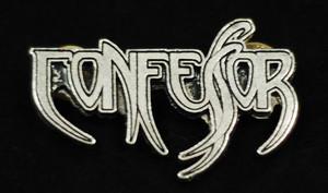 """Confessor - Logo 2"""" Metal Badge Pin"""