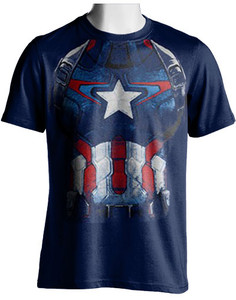 Captain America Armor T-Shirt