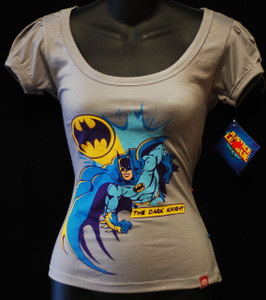 Batman the Dark Knight Grey Girls T-Shirt