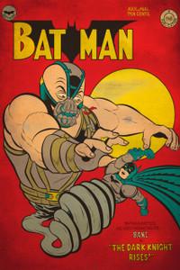 """Batman - The Dark Knight Rises Comic 12x18"""" Poster"""