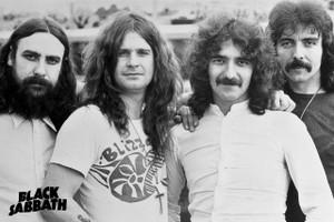 """Black Sabbath - Pic 12x18"""" Poster"""