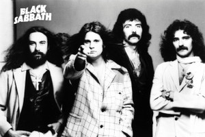 "Black Sabbath - Band 12x18"" Poster"