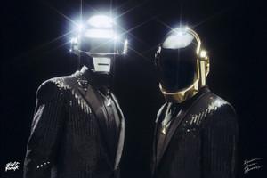"Daft Punk 12x18"" Poster"