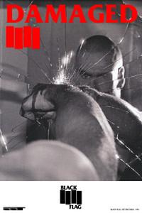 """Black Flag - Damaged 12x18"""" Poster"""