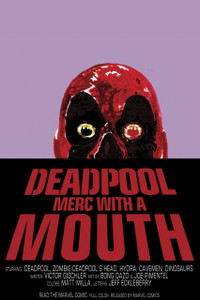"Deadpool - Merc with a Mouth 12x18"" Poster"