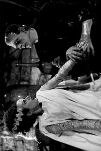 "Bride of Frankenstein 12x18"" Poster"