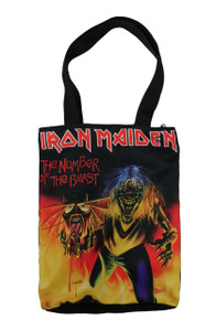 Go Rocker - Iron Maiden The Number of the Beast Shoulder Bag