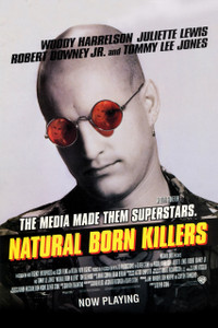 "Natural Born Killers 12x18"" Poster"
