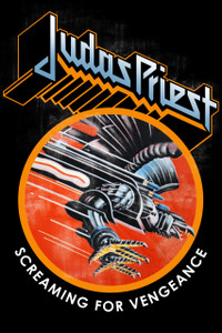 "Judas Priest Screaming for Vengeance 12x18"" Poster"