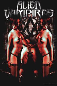 "Alien Vampires 12x18"" Poster"