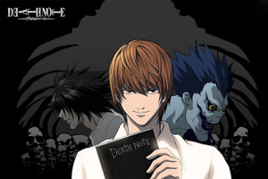 "Death Note 12x18"" Poster"