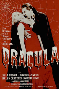 "Dracula Movie 24x36"" Poster"