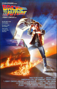"Back to the Future Movie 24x36"" Poster"