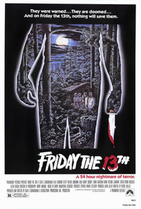 "Friday the 13th Movie24x36""  Poster"