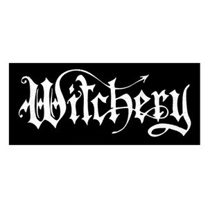 "Witchery - Logo 10x5"" Printed Patch"