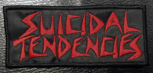 "Suicidal Tendencies - Red Logo 4x2"" Embroidered Patch"