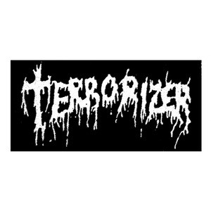 "Terrorizer - Logo 6x3"" Printed Patch"