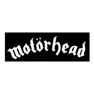 "Motorhead - Logo 6x2"" Printed Patch"