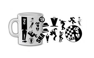 Ska Print Coffee Mug