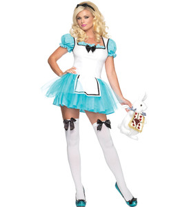 Leg Avenue - Enchanted Alice Halloween Costume