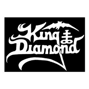 "King Diamond - Logo 5x4"" Printed Patch"
