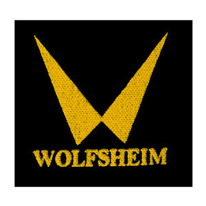 "Wolfsheim - Logo 4x4"" Printed Patch"