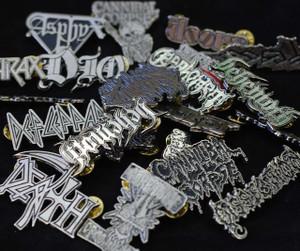 Custom Metal badges 50 pieces