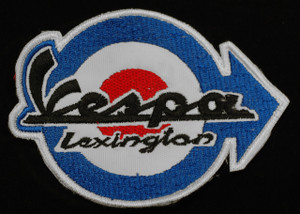 "Vespa - Lexington 3.25"" Embroidered Patch"
