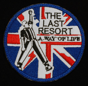 "The Last Resort - A way of Life 3"" Embroidered Patch"