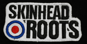 "Skinhead - Roots 3"" Embroidered Patch"