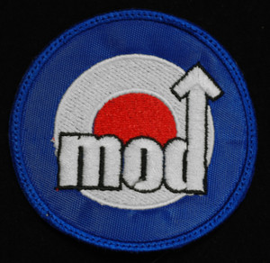 "Mod Target - Logo 3"" Embroidered Patch"