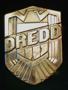 """Judge Dredd - Logo 3"""" Metal Badge Pin"""