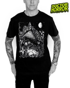 Dr. Horror - Crow T-Shirt
