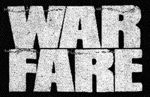 "Warfare - Logo 6x5"" Printed Patch"
