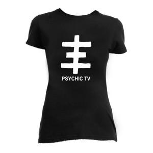 Psychic TV - Cross Logo Blouse T-Shirt