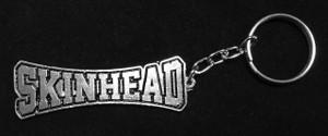 Skinhead Metal chain Keyring