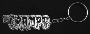 Cramps - Logo Metal chain Keyring