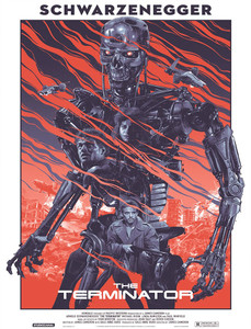 "The Terminator - Robot 4x5.25"" Color Patch"