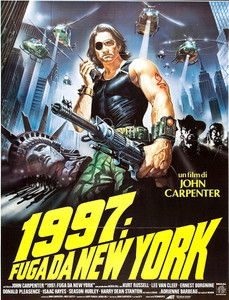 "1997: Escape from New York 4x5.25"" Color Patch"
