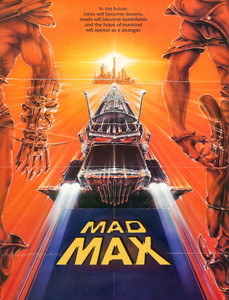 "Mad Max - Poster 4x5.25"" Color Patch"