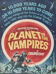 "Planet of the Vampires 4x5.25"" Color Patch"