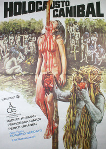 "Cannibal Holocaust - Spanish Poster 4x5.25"" Color Patch"