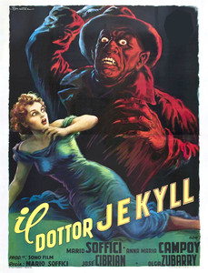 "Dr. Jeckyll - Italian Poster 4x5.25"" Color Patch"