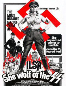"Ilsa She Wolf of the SS 4x5.25"" Color Patch"